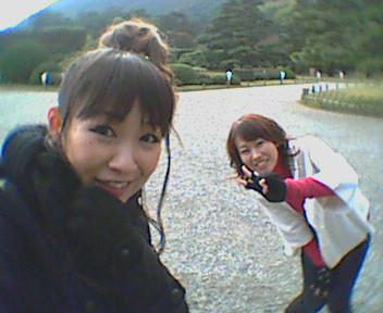 栗林公園から〜☆